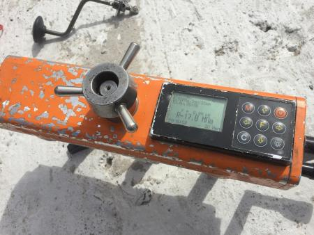 Инструменты определения прочности бетона.