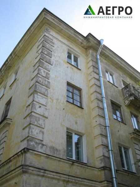 Обследование фасада