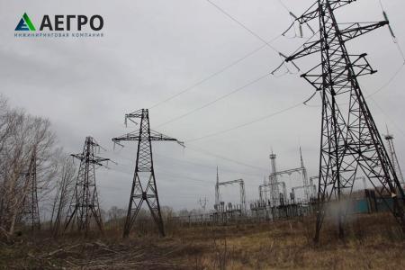 Опоры ВЛ 110кВ в Камчатском крае
