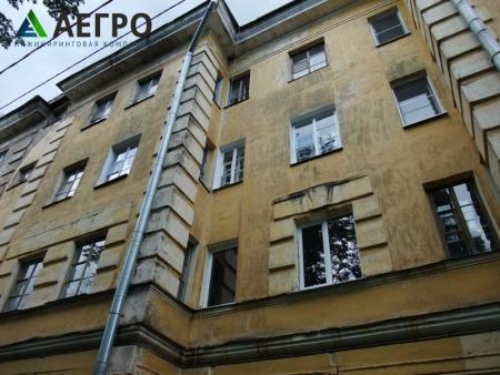 Визуальное обследование фасада здания