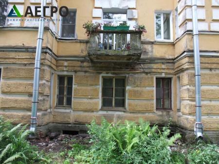 Разрушение бетона балконной плиты