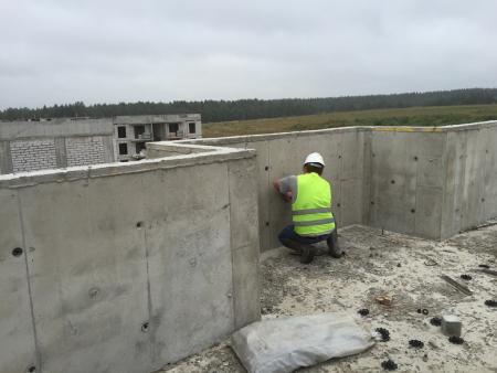 Определение прочности бетона.