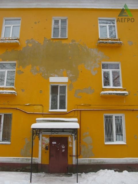 Штукатурка по сетке на фасаде дома